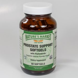 Nature's Market Prostate Support Softgels