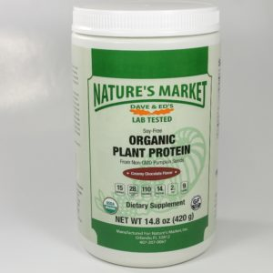 Nature's Market Organic Plant Protein Creamy Chololate