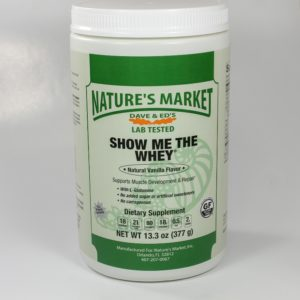Nature's Market Show Me The Whey Vanilla
